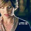 Detective Olivia Benson: Embarrassed blue sweater
