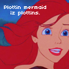 Ariel-Plottin mermaid