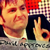 Nici: doctor who: david approve