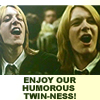 DM: Fred and George: Humorous Twinness