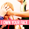 VIAN ✩彡: ryo owns yasu's face