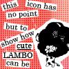 [Reborn!] Lambo - No point but the cute