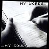 My words my soul