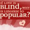 hum - blind love lingerie
