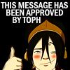 atla; toph approves