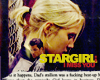 Elisabeth: bsg. stargirl. i miss you.