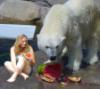 bear girl watermelon