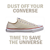 DW // dust off your Converse.