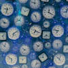 Clocks - from photograph taken in New Yo