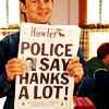 An Overachiever of the Wrong Persuasion: Corner Gas - Police Says Hanks A Lot