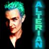 Alterian - Spike - green/blue