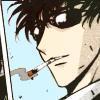 Seishirou Sakurazuka: Smoking