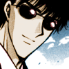 Seishirou Sakurazuka: smirk with sunglasses