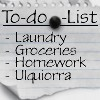 coffee_gyrl: to-do-list Ulquiorra