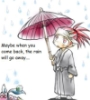 Renji in the rain
