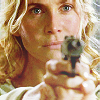 patron saint of neglected female characters: girl + gun