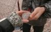 с камнем