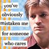 mal mistaken for caring