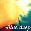 wandering, wondering girl: shine deep through the water