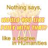 Marina: school: humanities