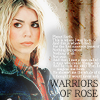 Official LJ Community for the DWF Warriors of Rose