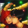 Lily/James kiss