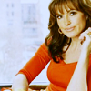 Detective Olivia Benson: leaning red sweater