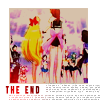 the end - sailor moon