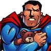 MISC Superman Teddy