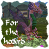 Fae kitty of Roses and Columbine, on Secondlife: dragon hoard