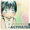 Yurameki: chibi eyes activated