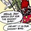 Diary of an Ass Monkey: comics: skooky bird