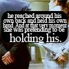deepsea_dreamer: pushing daisies; hand holding