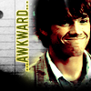 SPN: Sam - awkward smile in Bugs