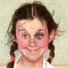 дева с фингалом