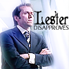 lester disaproves