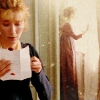 Elinor with letter