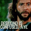 Creature Of Hobbit: desmond is confused
