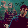 Ron/Hermione and Harry