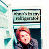 Arashi ☂ Ohno's in my fridge