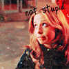 buffy~not stupid