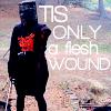 theworldslips: itsonlyafleshwound