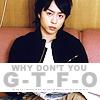 "Sho ""GTFO"""