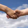 handshake, children, holding, shaking hands, kids