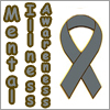 MASHFanficChick: Mental Illness Awareness (text + ribbon)