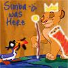 ~*AzianWolfDoll*~: Misc:  (TLK) Simba was here.