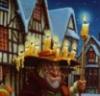 Дед со свечами