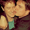 Ambra: Actors;;;John & Scott;;Kiss (Awww.)