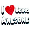 ! i heart being awesome