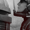 battlestar galactica; starbuck & raider
